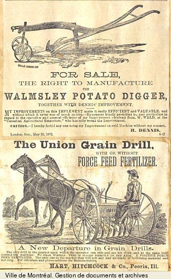 Agriculture québec 19e siècle