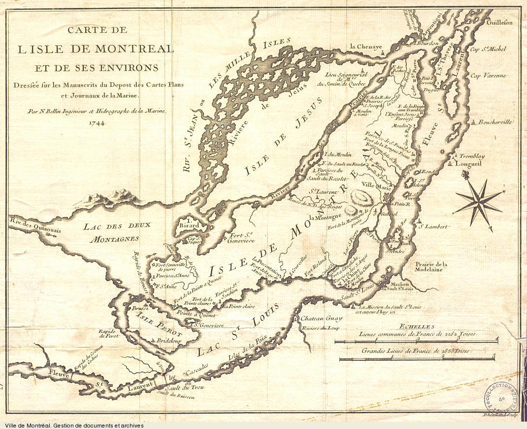 Montr al 1744 democracy in montreal archives de montr al - Villes d ile de france ...