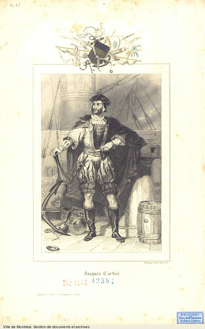 Jacques Cartier, 19e siècle, BM7,C11,42384