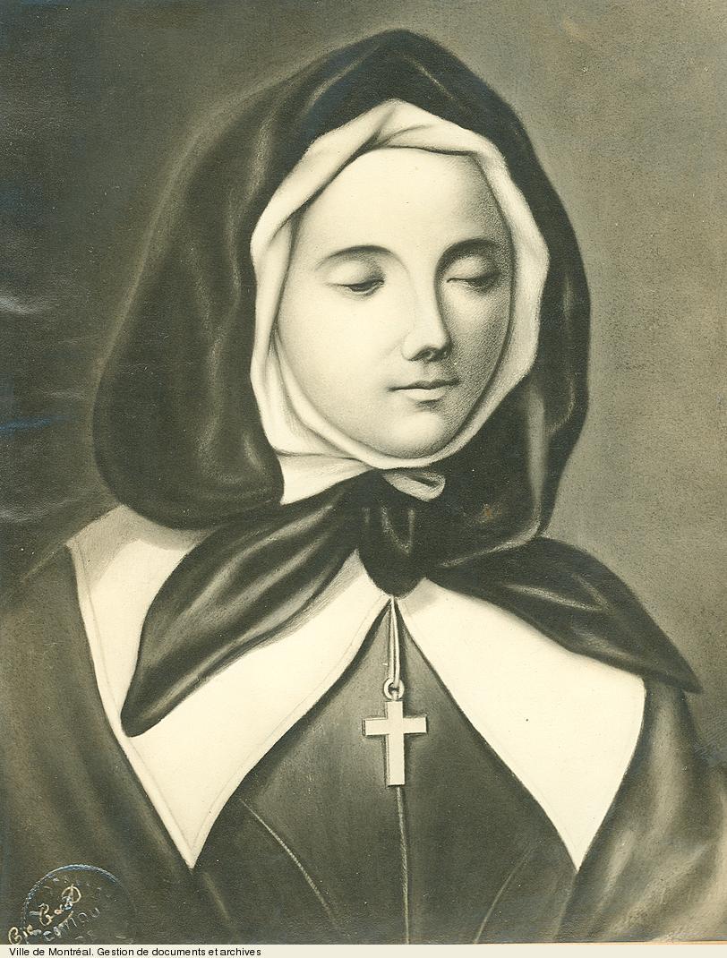 Marguerite Bourgeoys, début du 20e siècle, BM1,S5,P224