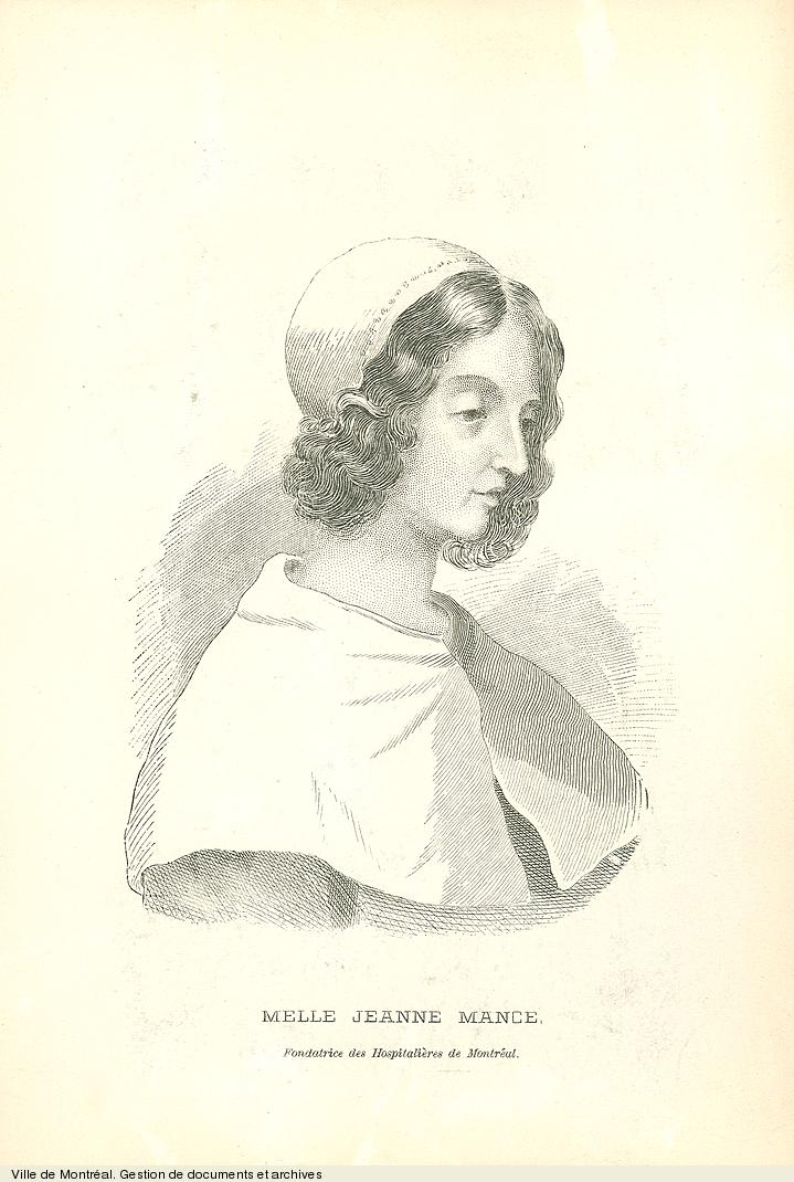 Jeanne Mance, 19e siècle. BM1,S5,P1381
