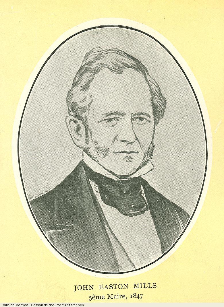 John Easton Mills, maire de Montréal en 1847, début du 20e siècle, BM1,S5,P1474