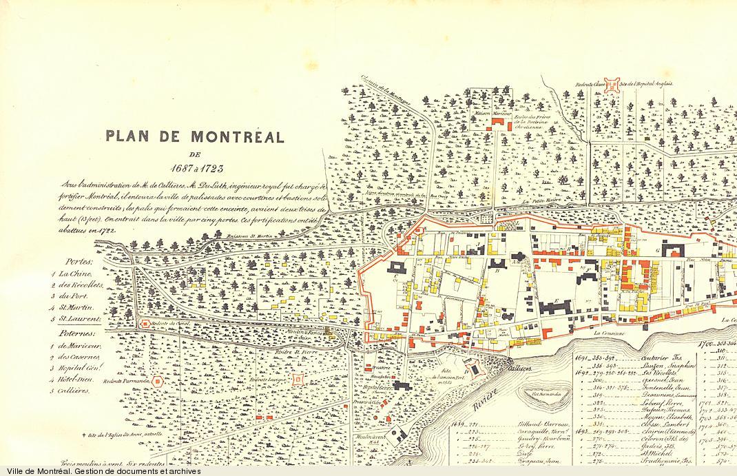 Montréal 1687-1723 (page 2) - Democracy in Montreal - Archives de ...