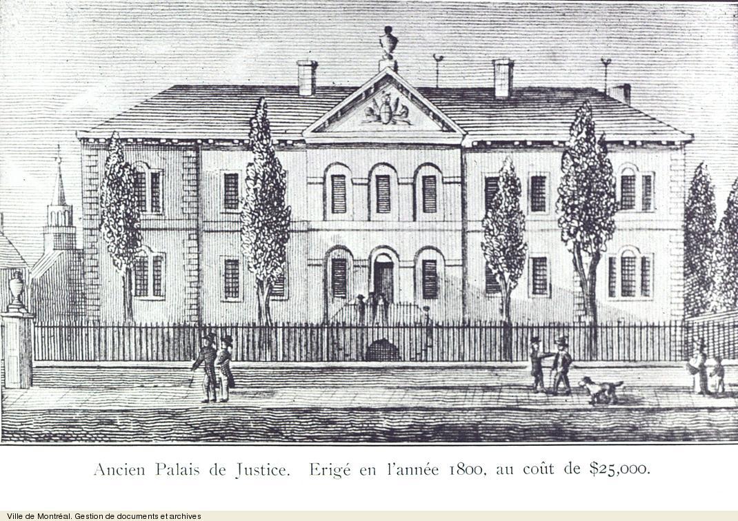 Ancien palais de justice. - [19-]. VM6,S10,R3067-2