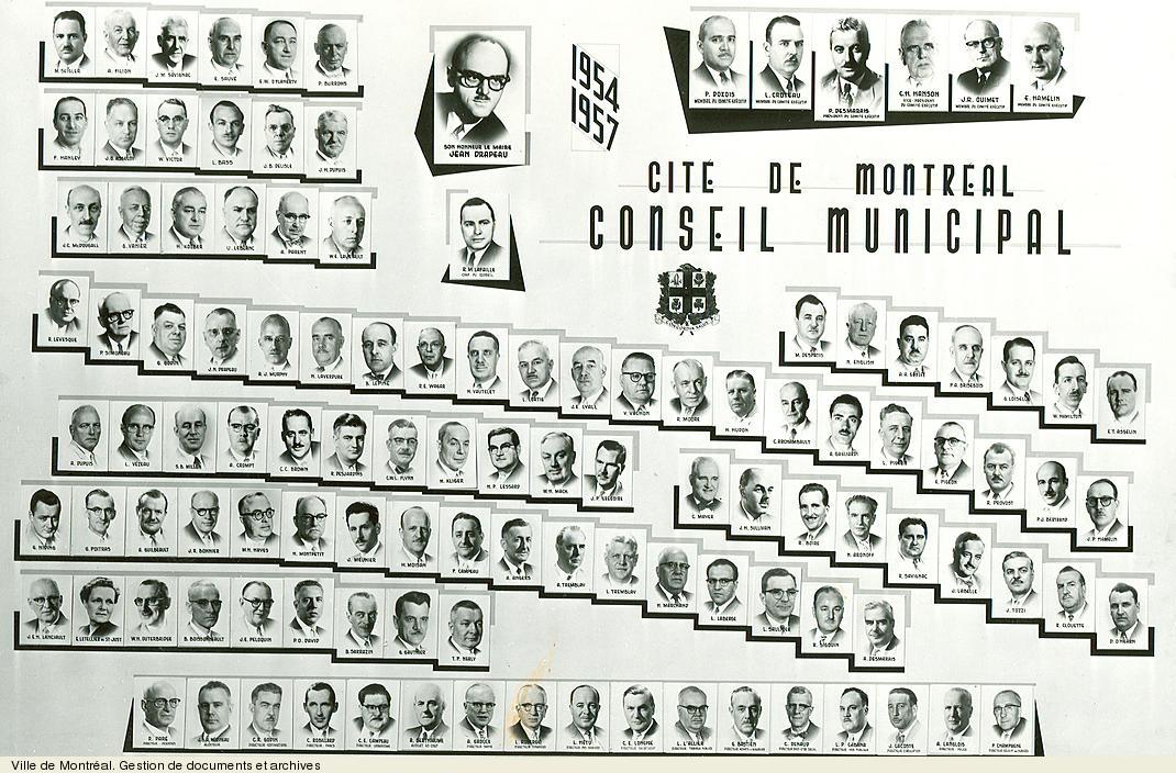 Conseil municipal de 1954-1957. VM6,S10,D015.22-5