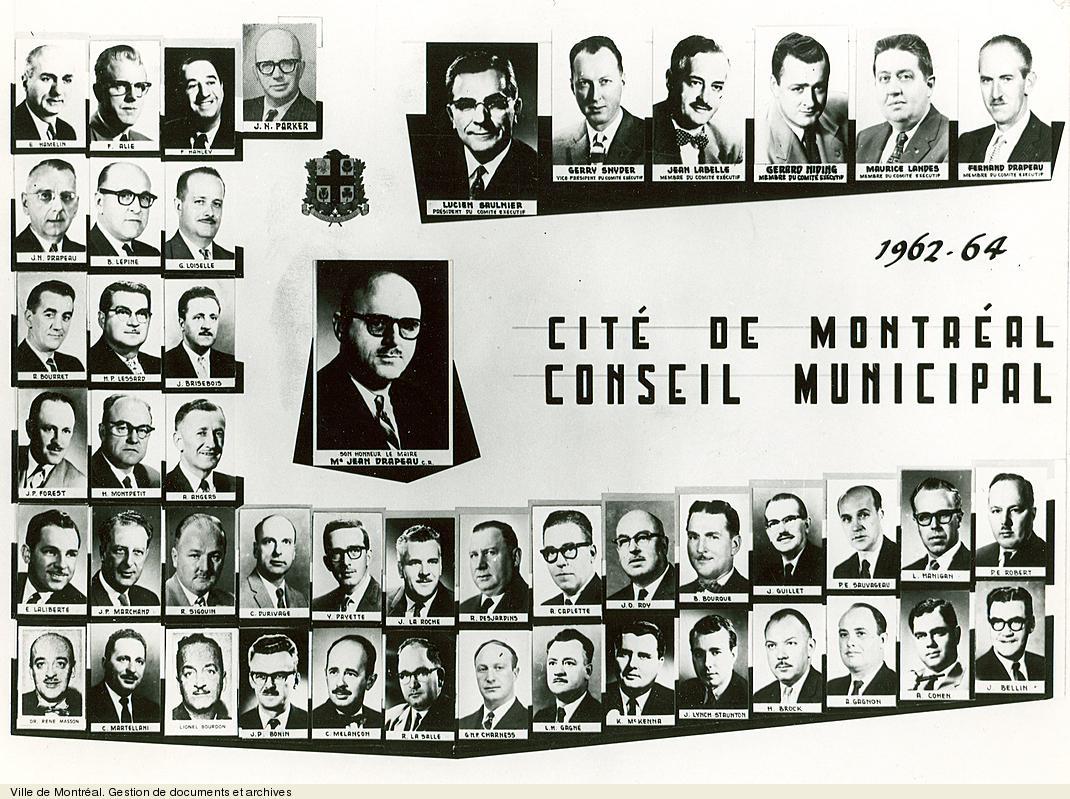 Conseil municipal de 1962. VM6,S10,D015.22-5