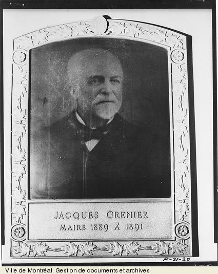 Jacques Grenier. - [19-]. - 1 photographie. VM6,D026-20