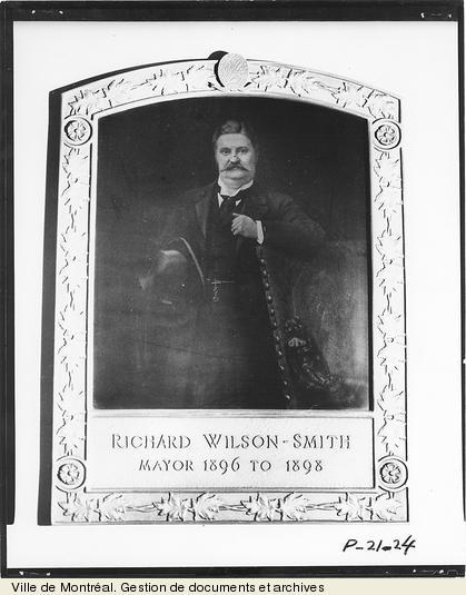 Richard Wilson-Smith. - [19-]. - 1 photographie. VM6,D026-24