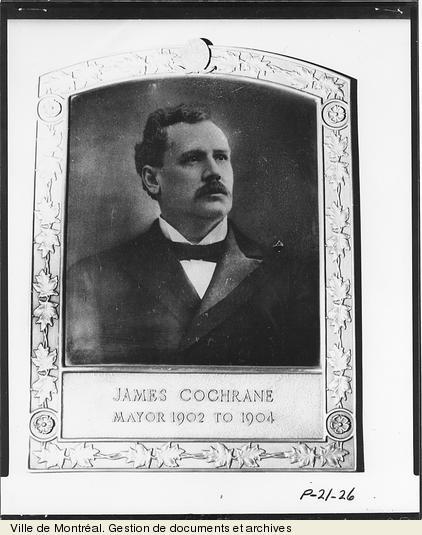 James Cochrane. - [18-]. - 1 photographie. VM6,D026-26