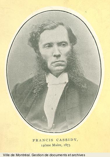 Francis Cassidy. - [19-]. - 1 photographie. BM1,S5,P352-2