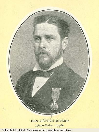 Sévère Rivard. - [19-]. - 1 photographie. BM1,S5,P1816