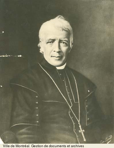 Ignace Bourget par Albert Ferland, début 20e siècle, BM1-S5-P0226