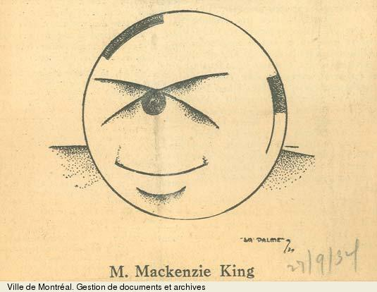 William Lyon Mackenzie King., BM1,S5,P1026-3