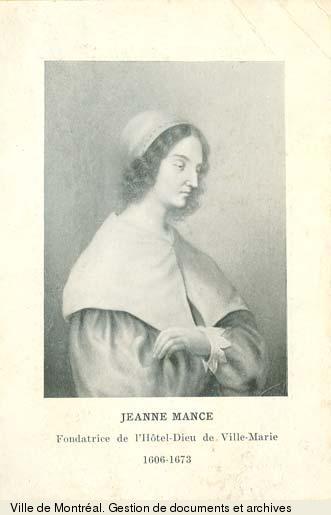 Jeanne Mance. [18-]-[19-].