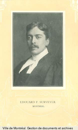 Édouard Fabre-Surveyer., BM1,S5,P2024-1